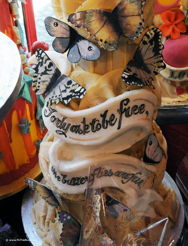Carnaby Street Cafe, Choccywoccydoodah! Carnaby Street Cafe in London Takes the Cake!