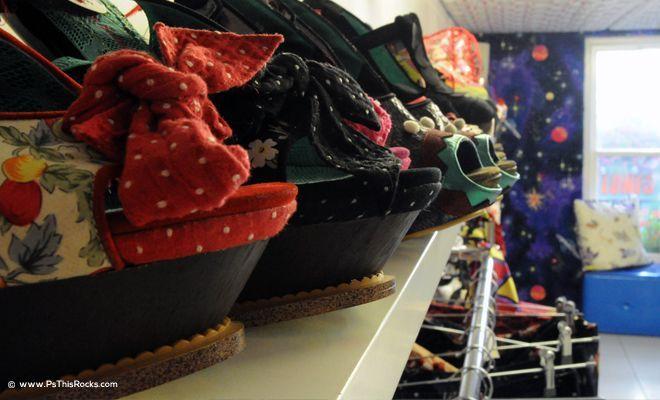 Disney movies Style Shoes, Union Jack Shoe, funny heels shoes, designer shoes, Irregular Choice, Union Jack Heels,