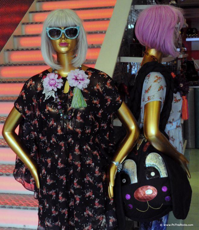Irregular Choice Fashion Ladies Suits, mannequin
