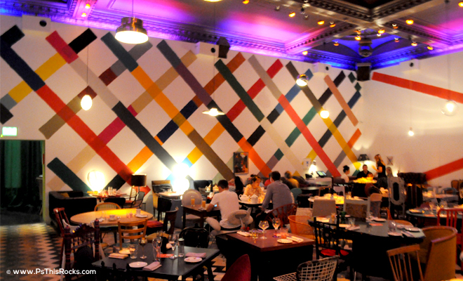Sketch restaurant in London
