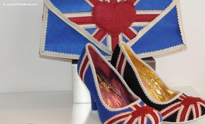 Union Jack Shoe, funny heels shoes, designer shoes, Irregular Choice, Union Jack Heels,