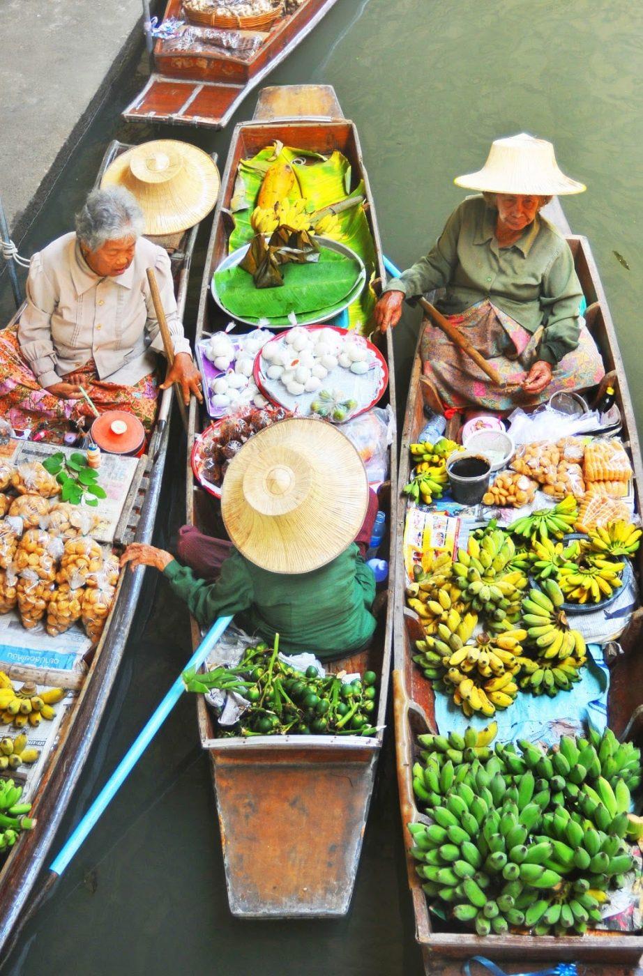 thailand floating market near my IBS school