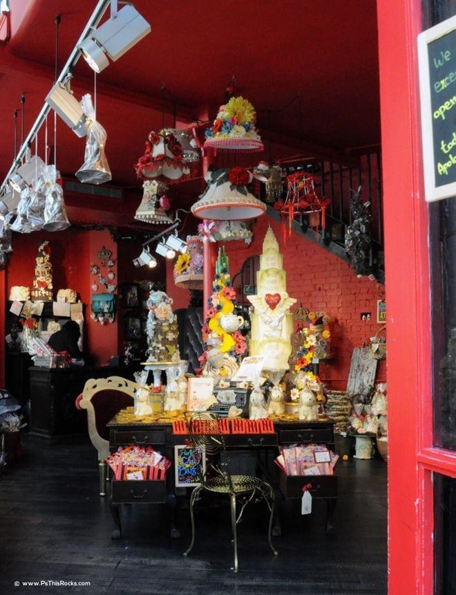 Carnaby Street Cafe, Choccywoccydoodah! Carnaby Street Cafe in London Takes the Cake!