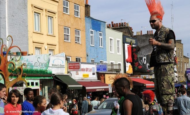 The Wild & Lovely Camden Market in London, England