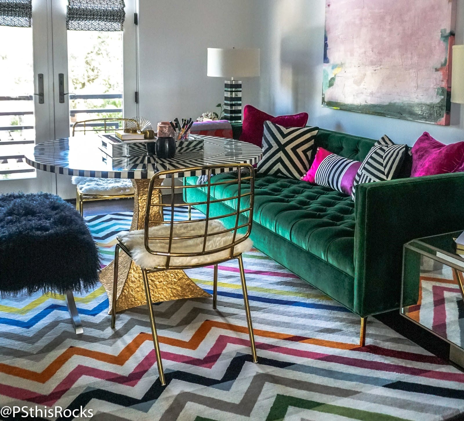 Phara Queen, Blake Shelton's Interior Designer: Rockstar Review Lounge by Phara Queen