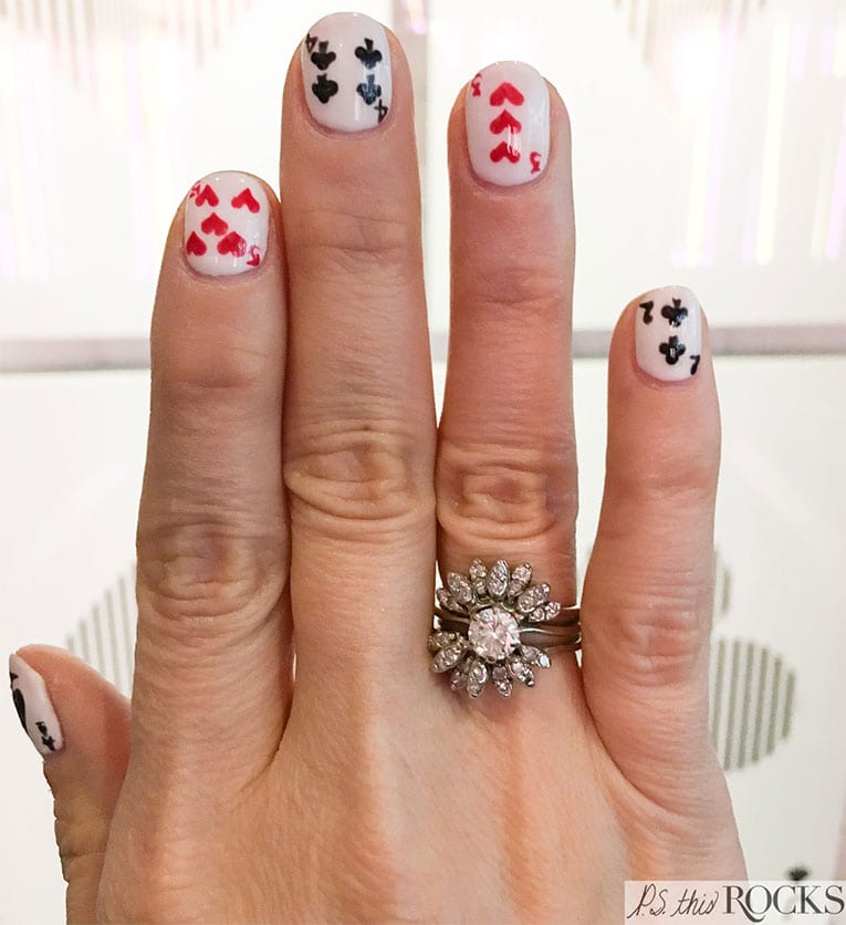 Handpainted Nail Art Design Ideas by Las Vegas Nail Artist - Lex Lounge