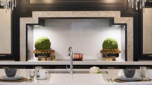 Million Dollar kitchen, Half Million Dollar Kitchen Collaboration: HGTV Star x Clive Christian Showcase in Traditional Home Texas Showhouse