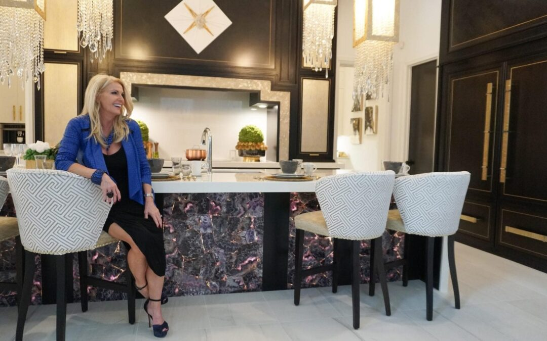 Million Dollar kitchen, Half Million Dollar Kitchen Collaboration: HGTV Star x Clive Christian Showcase in Traditional Home Texas Showhouse