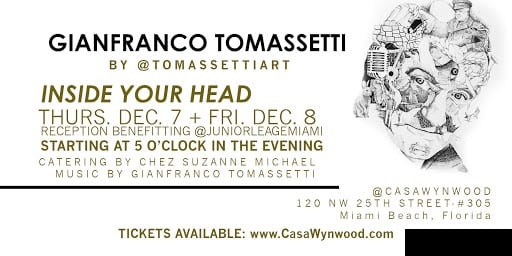 Inside Your Head | Wynwood Art Exhibition by Miami Artist Gianfranco Tomassetti