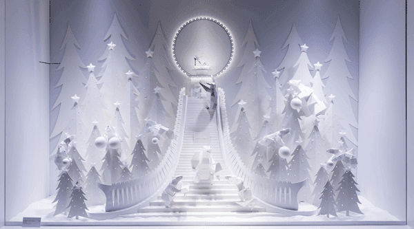 Top 5 Christmas Window Displays: Paris, France