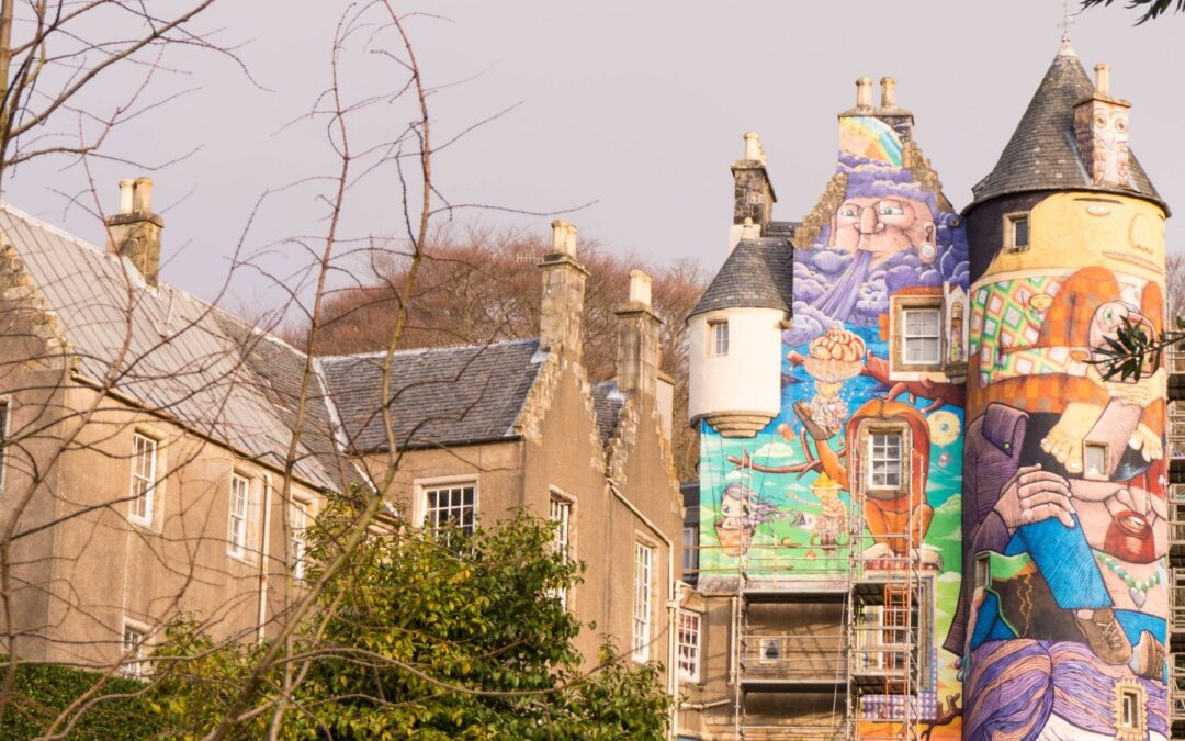 Coolest Graffiti Castle in The World – Kelburn Estate, Scotland