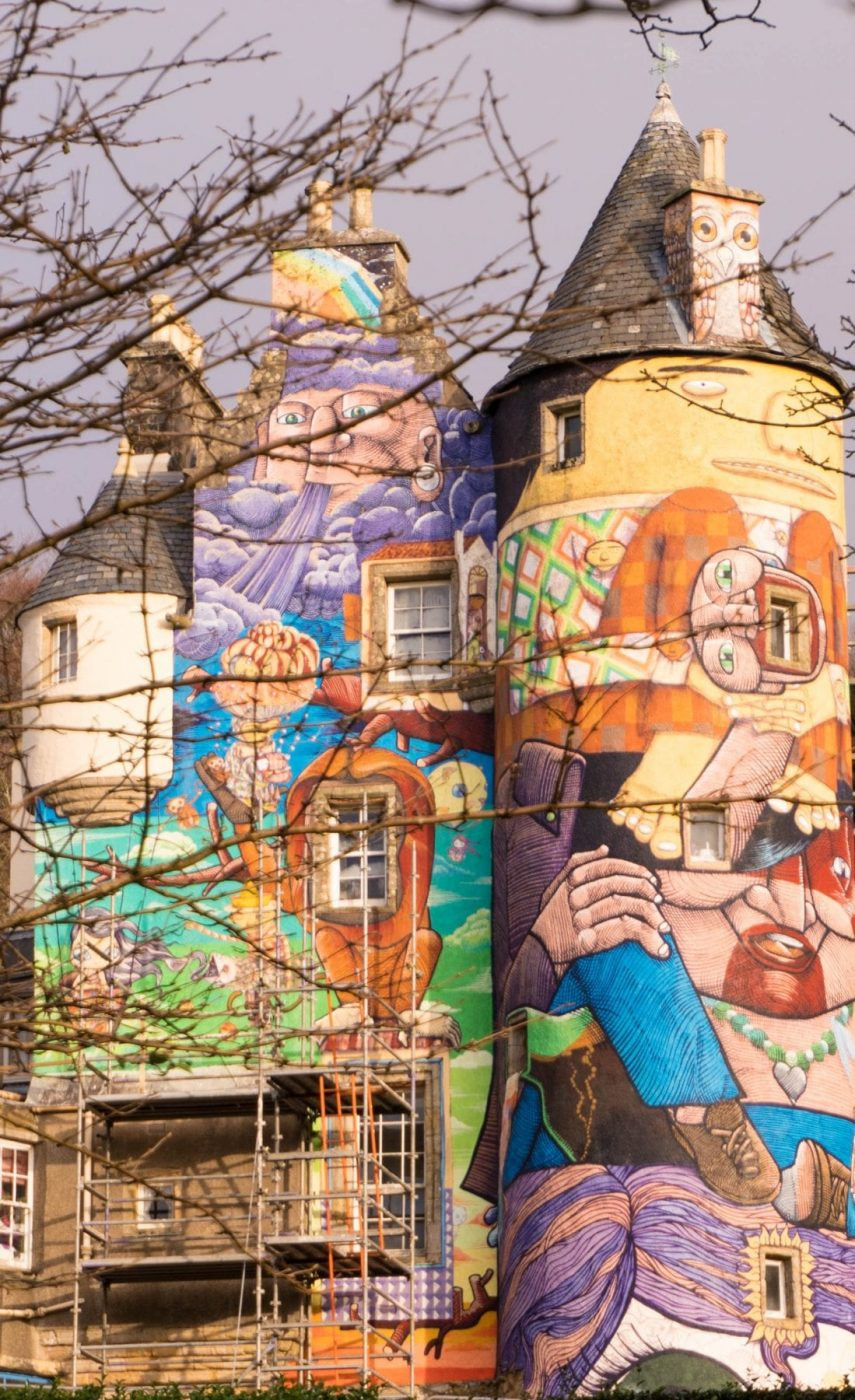 kelburn Castle, Coolest Graffiti Castle in The World – Kelburn Estate, Scotland