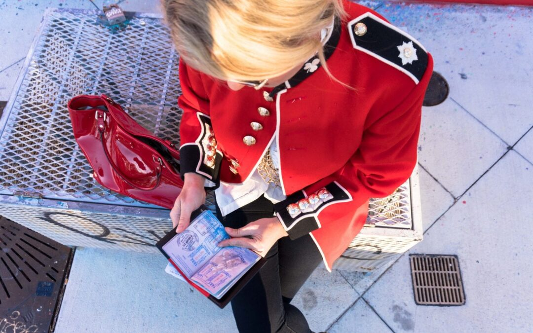 How + Why I Have a British UK Army Redcoat From The Queen's Guard