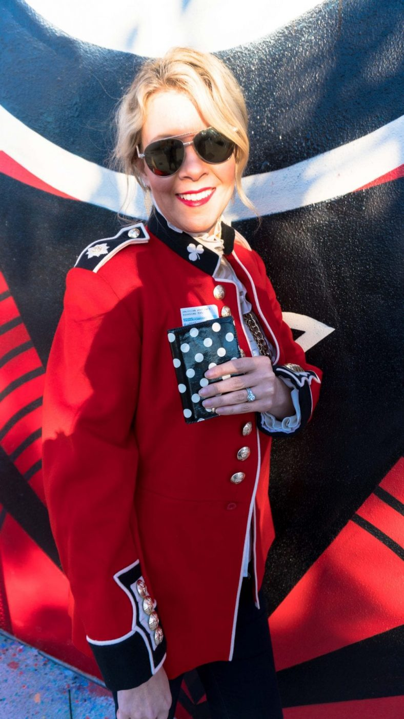 Christi, Tasker, Fashion, Blogger, Queens, Guard, Vintage, British, Red, Coat