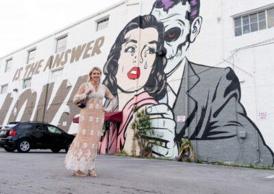 Good-bye D-Face Wall Art @ Casa Wynwood, Hello Something New