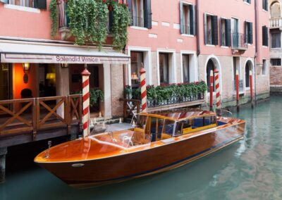 Float To The Front Door of an Absolutely Splendid & The Best Hotel in the Heart of Venice, Italy