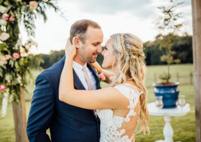 Marriage Ceremony at Beautiful North Georgia Grant Hill Farms