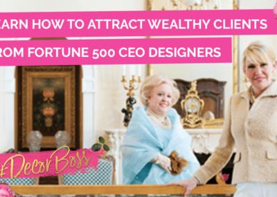 How To Work With Wealthy Affluent Design Clients Ann Platz