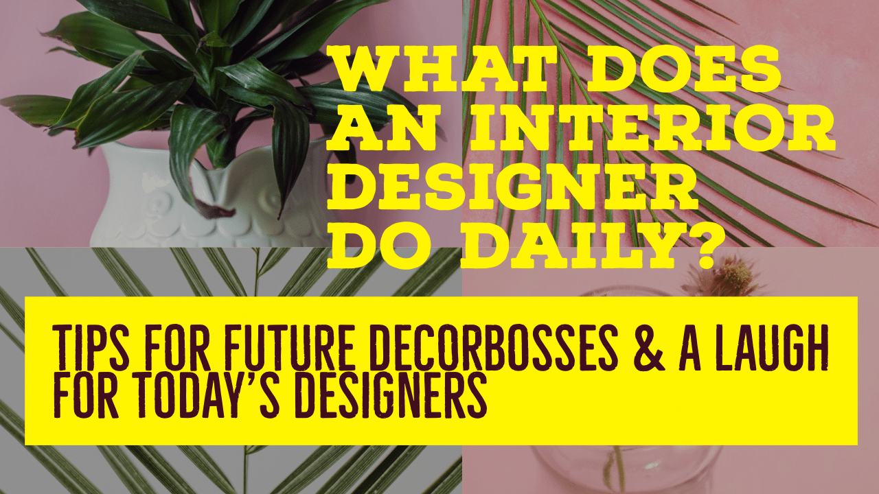 what do designers do on a daily basis