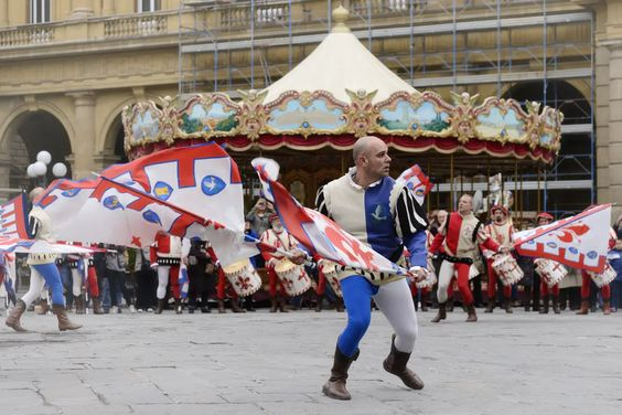 ", Spectacular Easter Celebration In Florence, Italy Called "" Explosion of the Cart"" 2020"